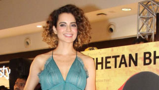 Kangana Ranaut At The Launch Of Chetan Bhagat's Book 'One Indian Girl'