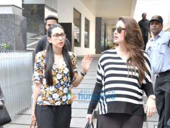 Kareena Kapoor Khan, Karisma Kapoor & Rhea Kapoor snapped post lunch at Hakkasan
