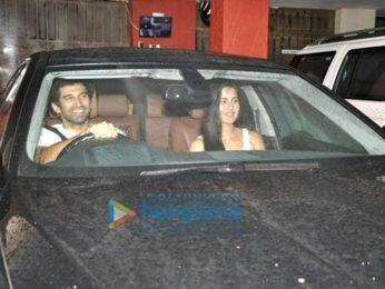 Katrina Kaif & Aditya Roy Kapur snapped as they step out for dinner
