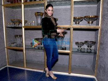 Kiara Advani and Rohit Bal unveil Crystal in Mumbai