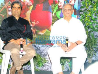 Gulzar & Vishal Bhardwaj at the music launch of 3D animation film 'Motu Patlu: King of Kings'