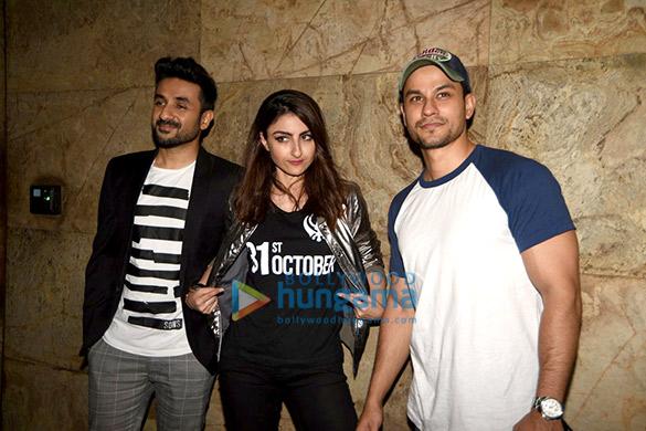 Neha Dhupia, Soha Ali Khan & Vir Das grace the screening of '31st October'