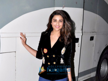 Parineeti Chopra snapped post Global Citizen shoot in Mumbai