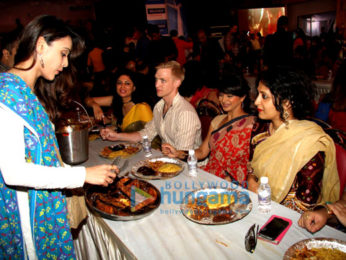 Ranbir Kapoor, Ayan Mukerji and Kajol snapped at the North Sarbojini Durga Pandal