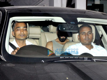 Ranveer Singh snapped post meeting Sanjay Leela Bhansali
