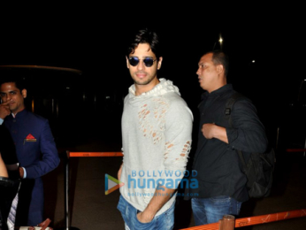 Sidharth Malhotra departs for Delhi to attend the New Zealand tourism event
