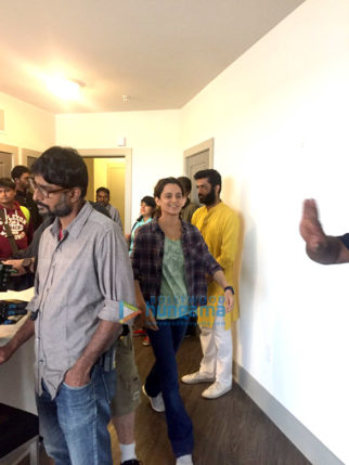 On The Sets Of The Movie Simran