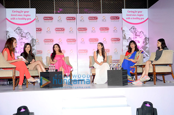 Sonali Bendre at Revital H Woman's Healthy Conversation launch