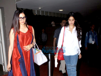 Sridevi, Huma Qureshi & Ileana D'Cruz snapped at the airport