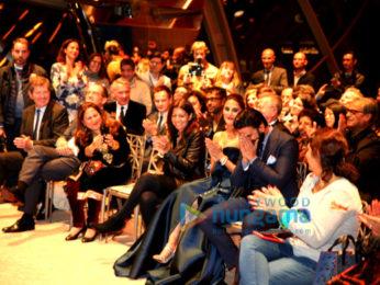 Ranveer Singh & Vaani Kapoor at the trailer launch of 'Befikre' in Paris