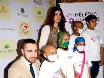 Twinkle Khanna and Imran Khan attend Helping Hands