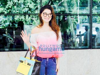 Urvashi Rautela snapped at the Mumbai airport