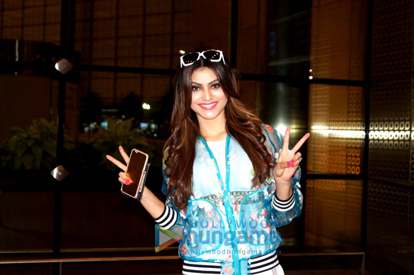 Urvashi Rautela snapped again at Mumbai international airport