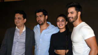 Varun Dhawan, Jacqueline Fernandez Celebrate Dishoom's Abu Dhabi Success