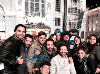 On The Sets Of The Movie Atithi In London