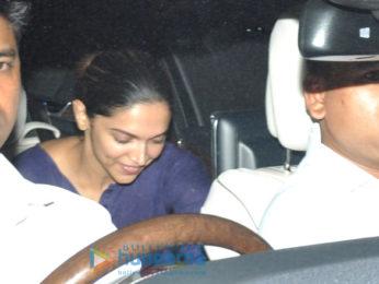 Deepika Padukone snapped in Bandra
