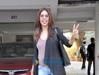 Emraan Hashmi, Esha Gupta and Ileana DCruz snapped post 'Baadshaho' cast meeting
