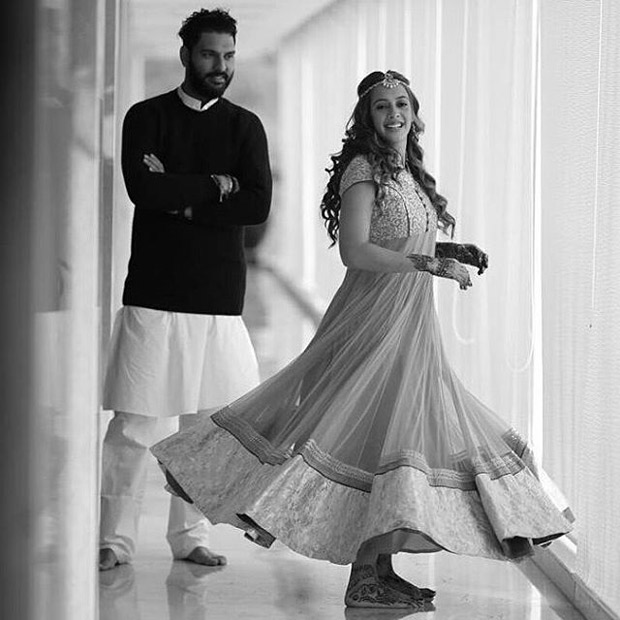 Check out: Inside images of Yuvraj Singh and Hazel Keech's mehendi and wedding