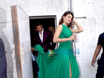 Hrithik Roshan & Jacqueline Fernandez snapped at an ad shoot