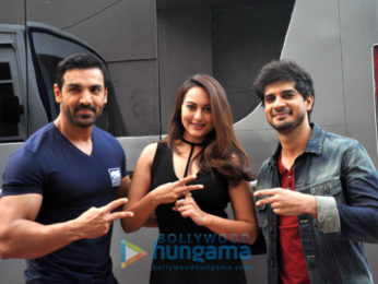 John Abraham, Sonakshi Sinha & Tahir Raj Bhasin promote their upcoming film 'Force 2'