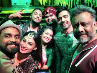 Mouni Roy SIZZLES At Tum Bin 2 Song ShootBTS