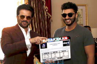 On The Sets Of The Movie Mubarakan