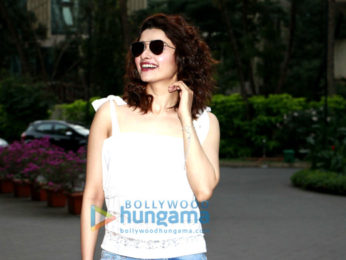 Prachi Desai snapped in the suburbs