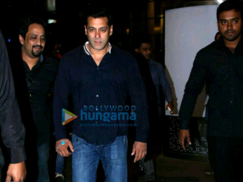 Salman Khan spotted at the international airport