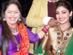 Shilpa Shetty, Geeta Kapoor Spotted At RK Studio video 2