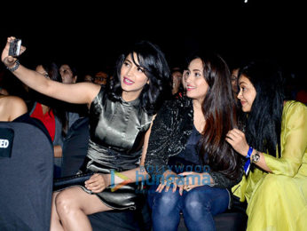 Shruti Haasan snapped at A R Rahman musical concert in Mumbai
