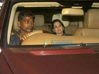 Special screening of 'Dear Zindagi' at Yash Raj Studio