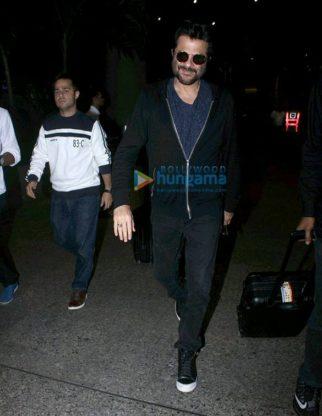 Sridevi, Anil Kapoor & Nagma snapped at the airport