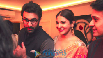 Karan Johar, Ranbir Kapoor, Anushka Sharma and others grace Sukhmani Sadana - Rishabh Thakkar's Diwali party