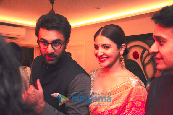 Karan Johar, Ranbir Kapoor, Anushka Sharma and others grace Sukhmani Sadana - Rishabh Thakkar's Diwali party