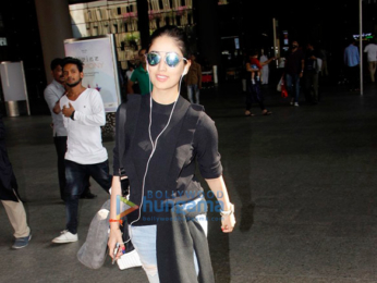 Tamannah Bhatia, Yami Gautam & Sophie Choudry snapped at the domestic airport