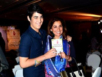 Ranbir Kapoor, Alia Bhatt & Akshay Kumar at the launch of Twinkle Khanna's book 'The Legend Of Lakshmi Prasad'