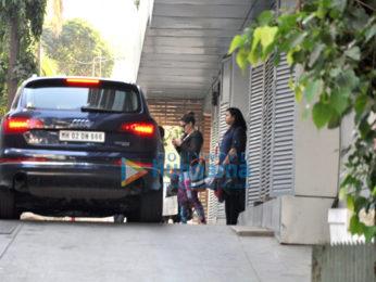 Zareen Khan snapped in Bandra