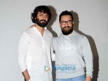 Aamir Khan at the first look launch of 'Secret Superstar'