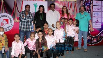 Aditya Roy Kapur meets special kids at Tata Memorial Centre