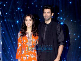 Aditya Roy Kapur & Shraddha Kapoor promote 'Ok Jaanu' on the sets of Indian Idol
