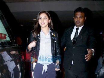 Anushka Sharma snapped at the Mumbai airport