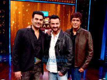 Arbaaz Khan, Sanjay Kapoor & Chunky Pandey on Yaaron Ki Baraat