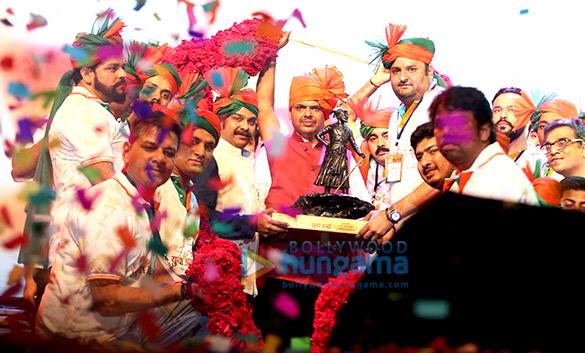 Celebs & C.M. Devendra Fadnavis grace the 'Yuva Urja' program