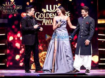 Celebs perform at Lux Golden Rose Awards