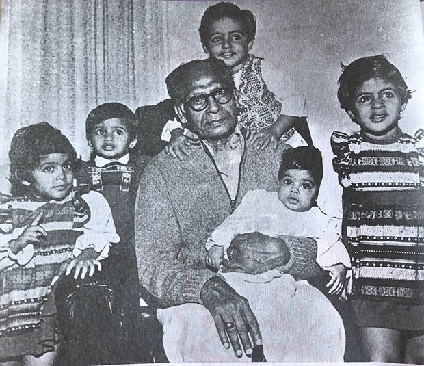 Check out Abhishek Bachchan's throwback memories with his grandfather
