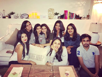 Check out Alia Bhatt's six girls, one boy night out
