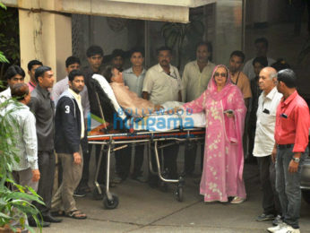 Dilip Kumar snapped with wife Saira Banu post discharge from hospital