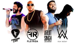 EXCLUSIVE Arijit Singh, Farhan Akhtar, Papon, Badshah ROCK EVC 2016 video
