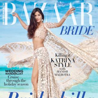 Katrina Kaif On The Cover Of Harper's Bazaar,Dec 2016