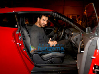 John Abraham unveils the new Nissan GTR in India